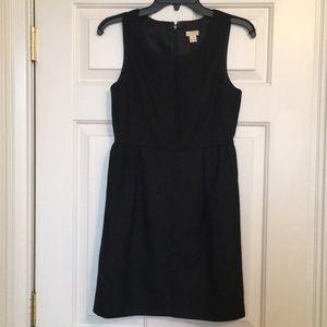J.Crew black dress size 4 petite